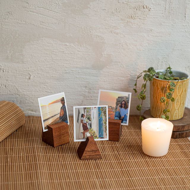 Geometric Photo Holder