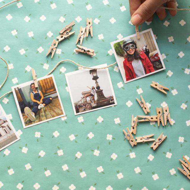 Mini Clothespins Kit