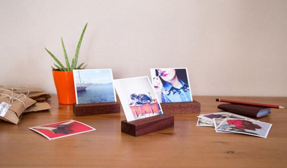 Wooden Photo Holder