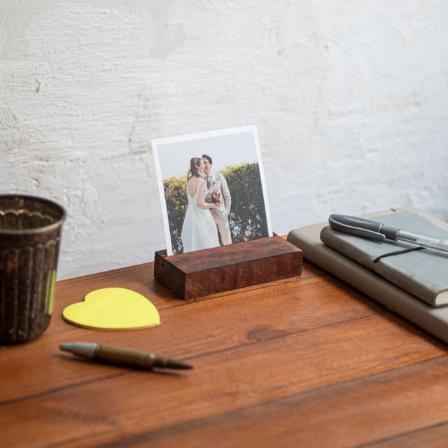 Wooden Photo Holder