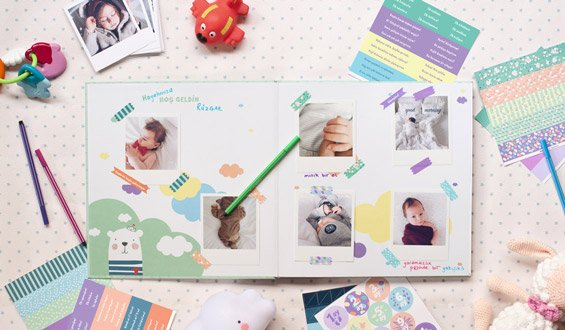 Baby Photo Scrapbook