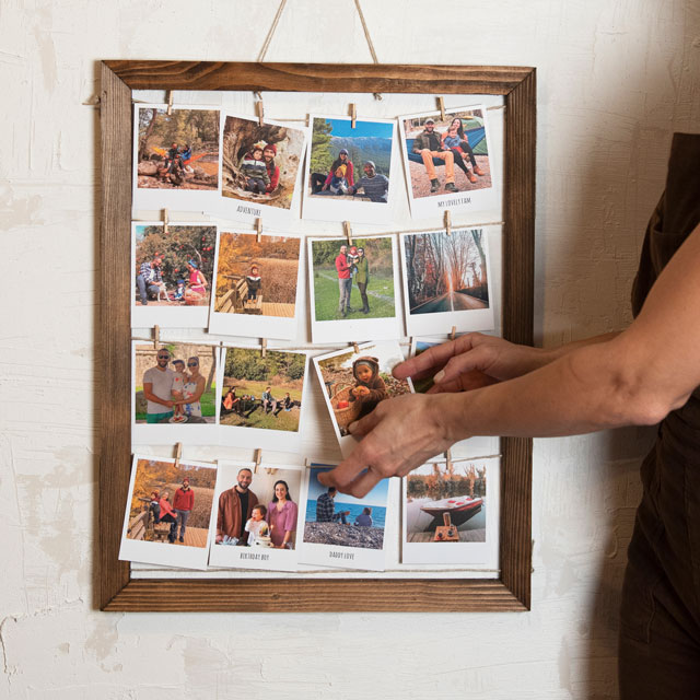 Wooden Wall Frame