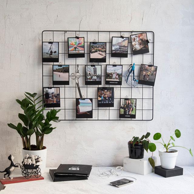 Metal Photo Grid
