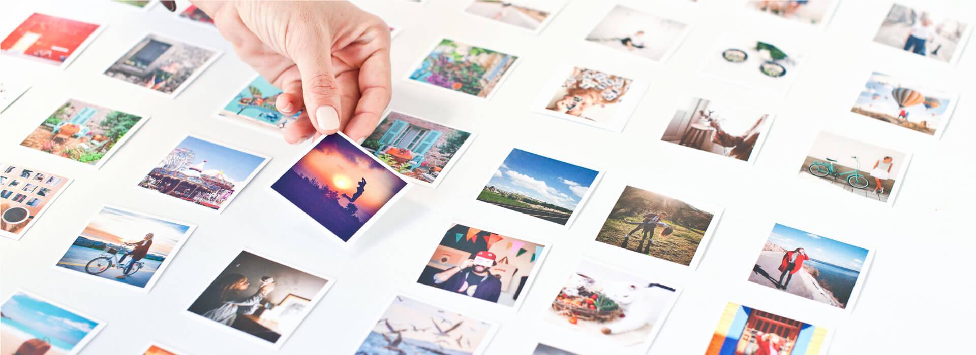 Mini Square Prints- 78 Pcs.