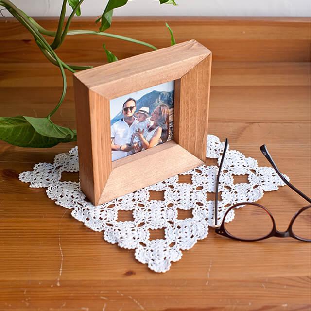 Wooden Square Frame