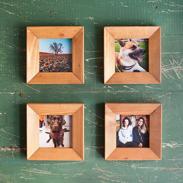 Wooden Square Frame