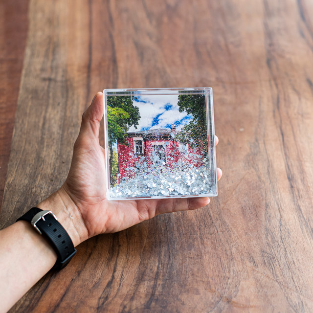 10x10 Glitter Frame