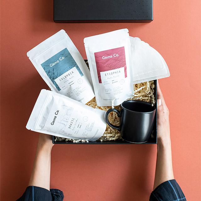 Dünya Kahveleri Hediye Kutusu