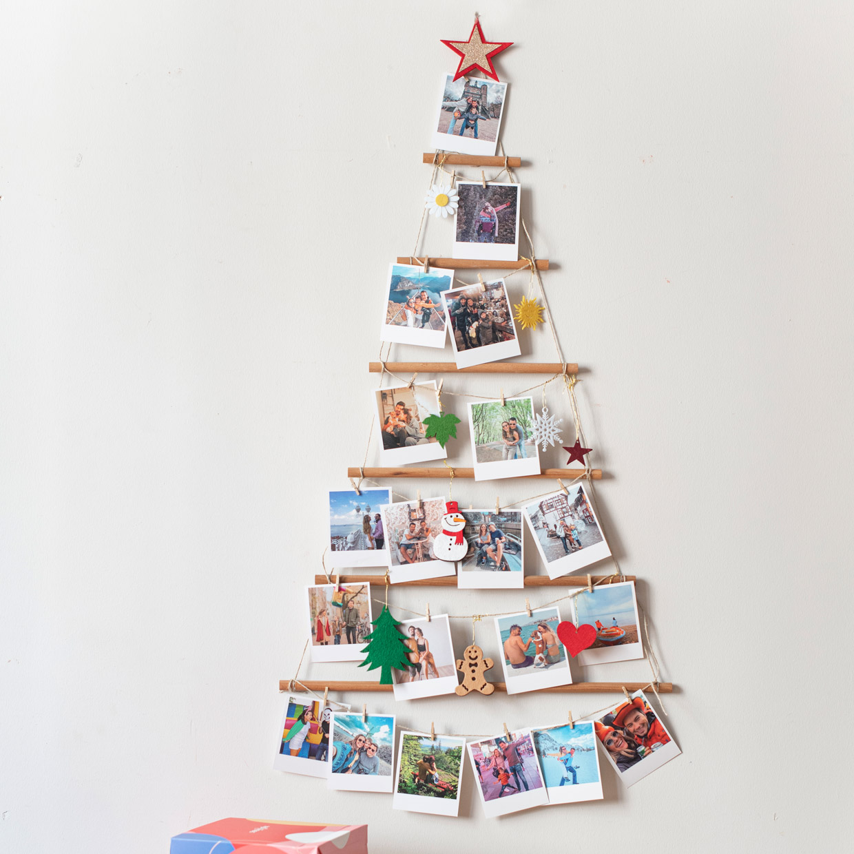 Wooden Memory Tree