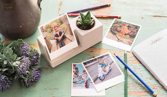 Memory Garden with Retro Prints - 20 Pcs.
