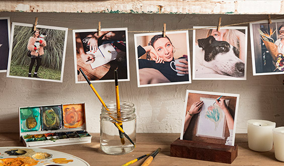Square Print - 10 Pcs.