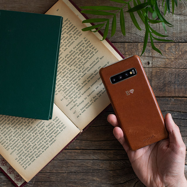 Samsung S10 Leather Phone Case