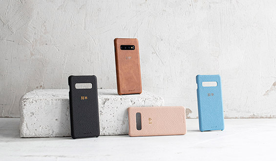 Samsung S10 Plus Leather Case