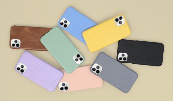 iPhone 11 Pro Max Deri Telefon Kılıfı