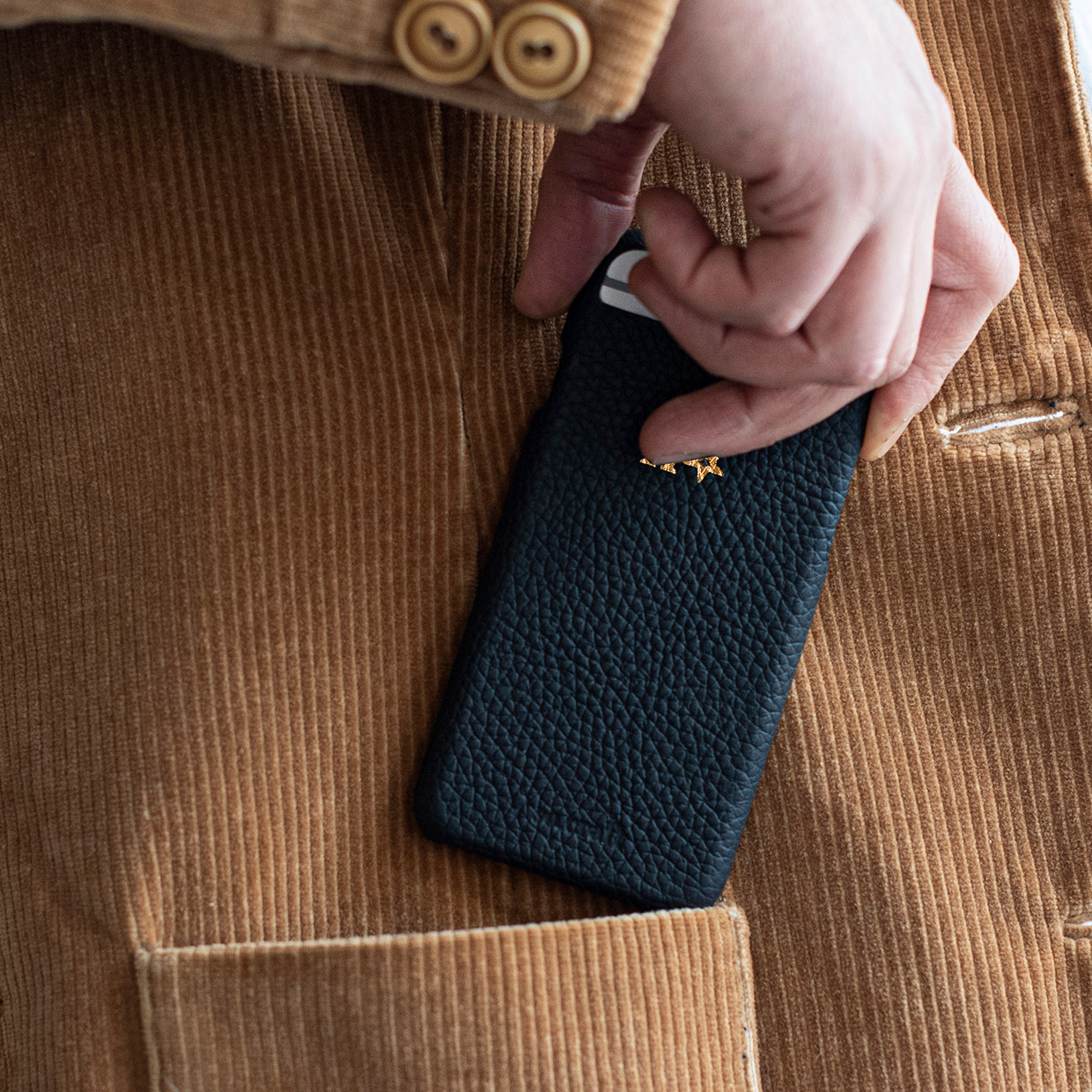 iPhone 11 Pro Max Leather Phone Case