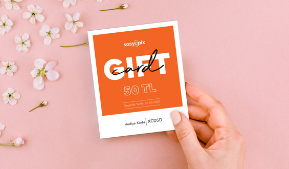 Gift Card - 50 TL