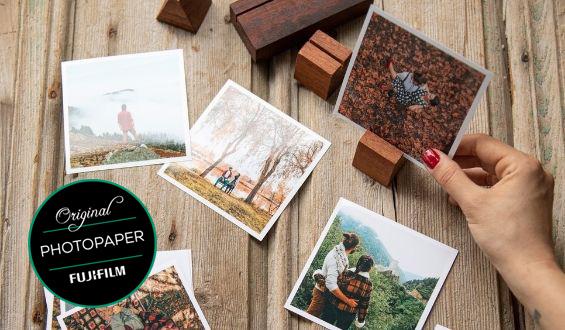 Square Photo Prints - 35 Pcs.
