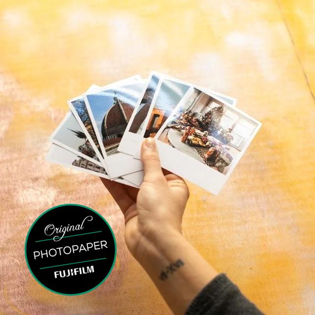 Retro Photo Prints - 10 Pcs.