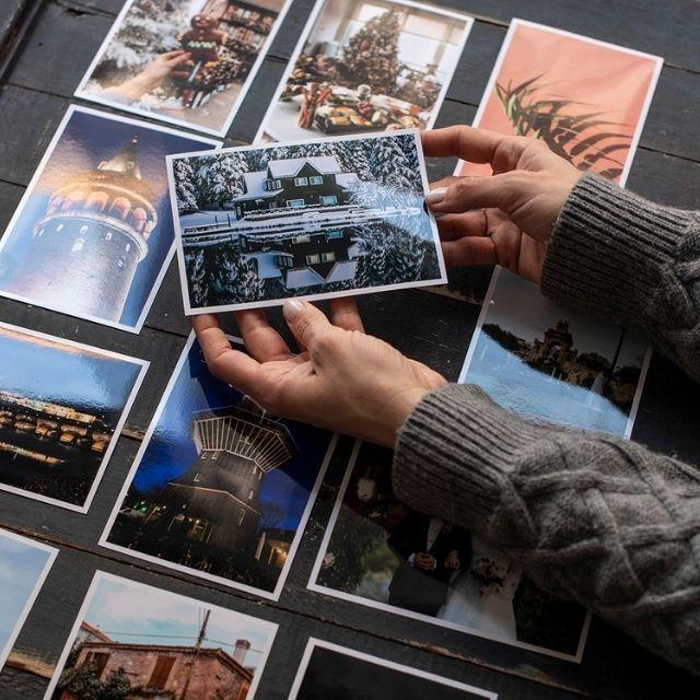 Klasik Fotoğraf Baskı - 8 Adet