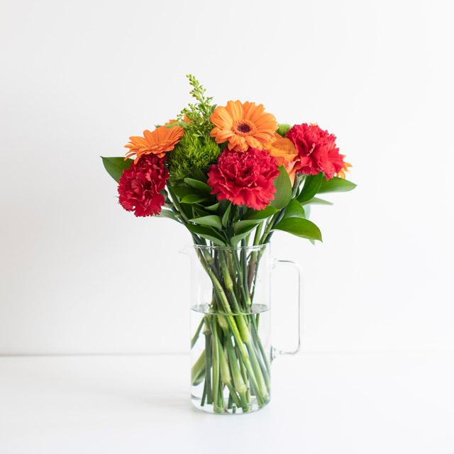 Orange Gerbera Flower Bouquet Flowers