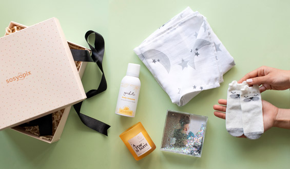 New Mom & Baby Gift Box