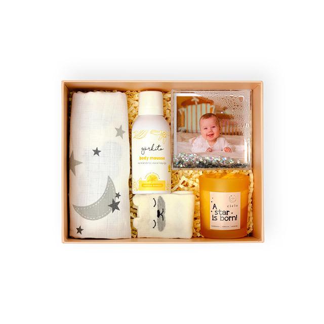 New Mom & Baby Gift Box