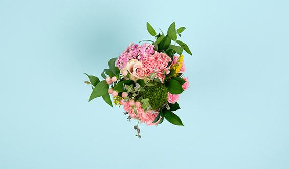 Bahar Esintisi Çiçek Buketi