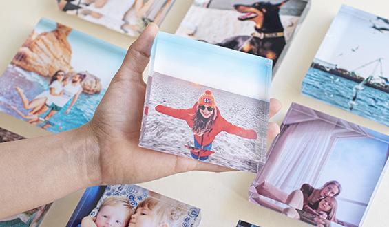 10x10 Akrilik Foto Blok