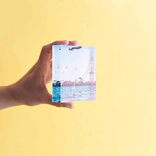 10x10 Acrylic Photo Block