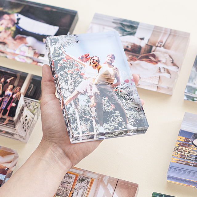 10x15 Acrylic Photo Block