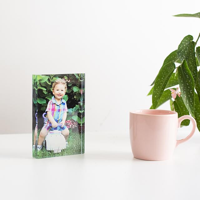 10x15 Akrilik Foto Blok