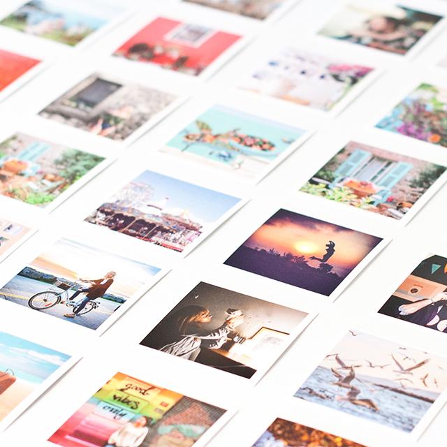 Mini Square Prints- 38 Pcs.