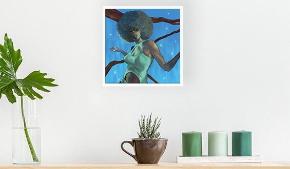 Soul Dancing 20x20 Sticky Frame