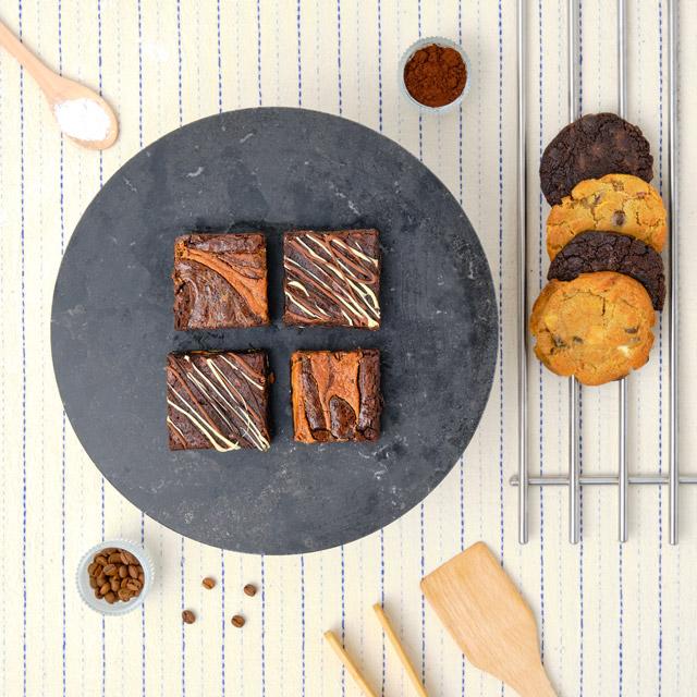 Akılda Kalanlar Brownie ve Cookie Kutusu - 8 Adet