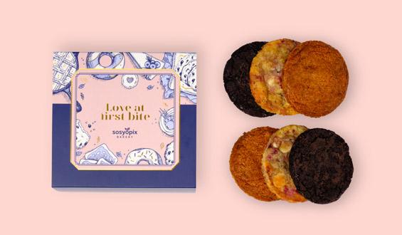 Premium Cookie Kutusu - 6 Adet