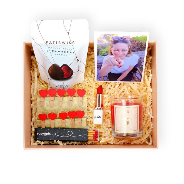Aşk Kırmızısı Hediye Kutusu