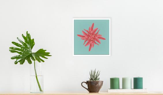Pink 20x20 Sticky Frame