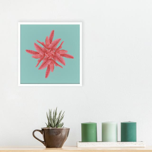 Art - Pink 20x20 Yapışan Çerçeve