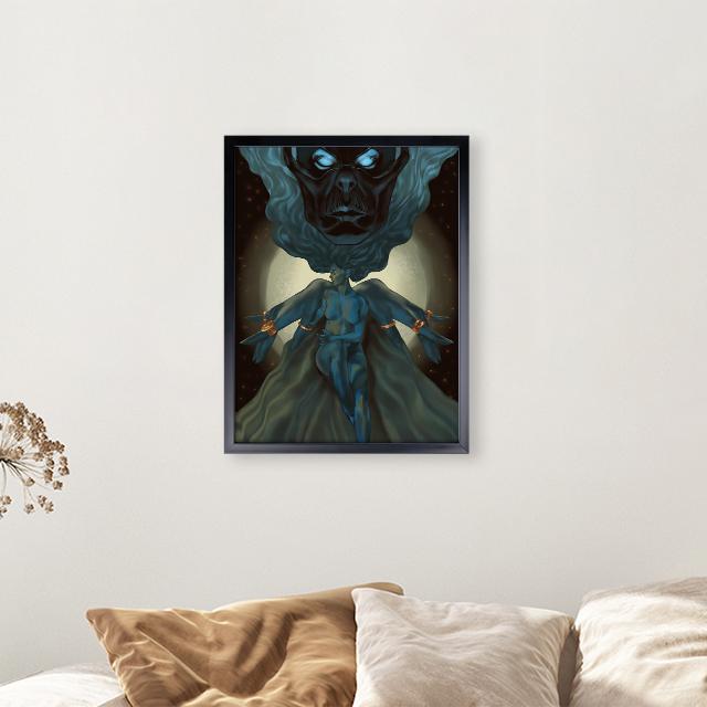 Art - Watcher - 30x40 Yapışan Çerçeve