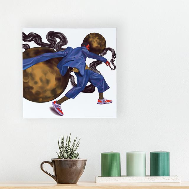 Art - Slowmo - 40x40 Kanvas Tablo