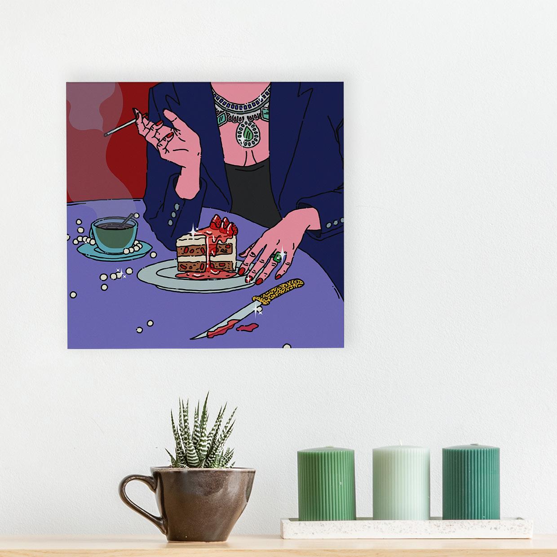 Art - Sweet 40x40 Kanvas Tablo