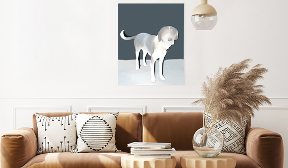 The Dog 50x70 Poster