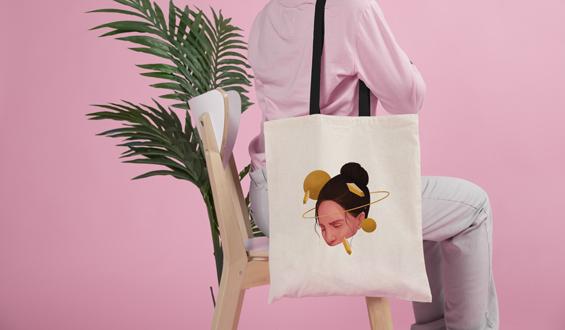 Space Cloth Bag