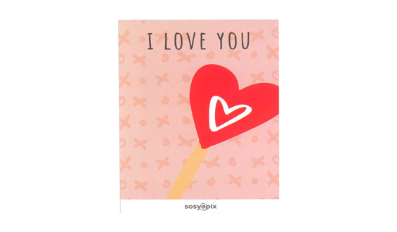 I Love You Motto Card