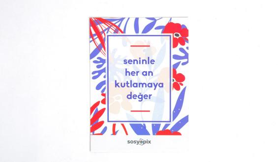 Celebration Motto Card
