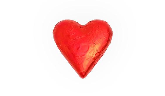 Kalp Çikolata - 100gr