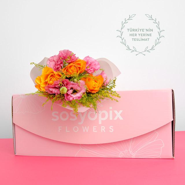 Sunset Flower Bouquet