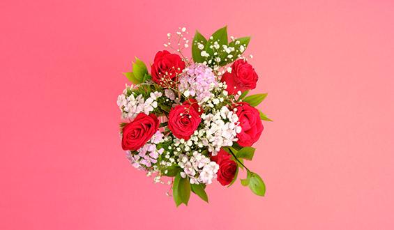 Romantic Breeze Flower Bouquet