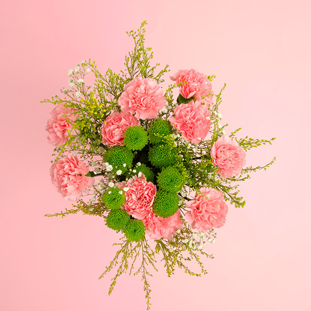 Pink Festival Flower Bouquet