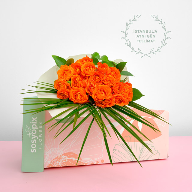 Spray Rose Feast Bouquet